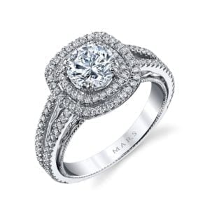 26086 Diamond Engagement Ring, 0.42 Ctw.