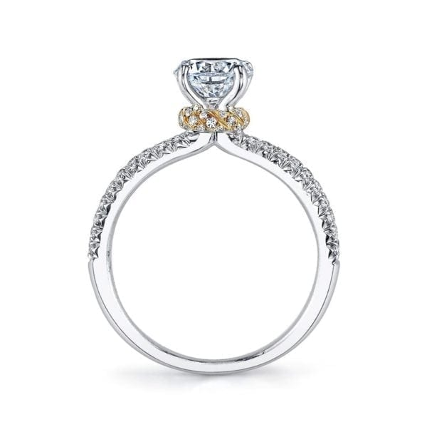 26097TT Diamond Engagement Ring, 0.41 Ctw.