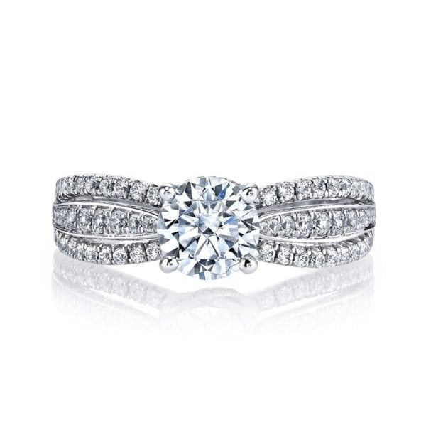 26099 Diamond Engagement Ring, 0.44 Ctw.