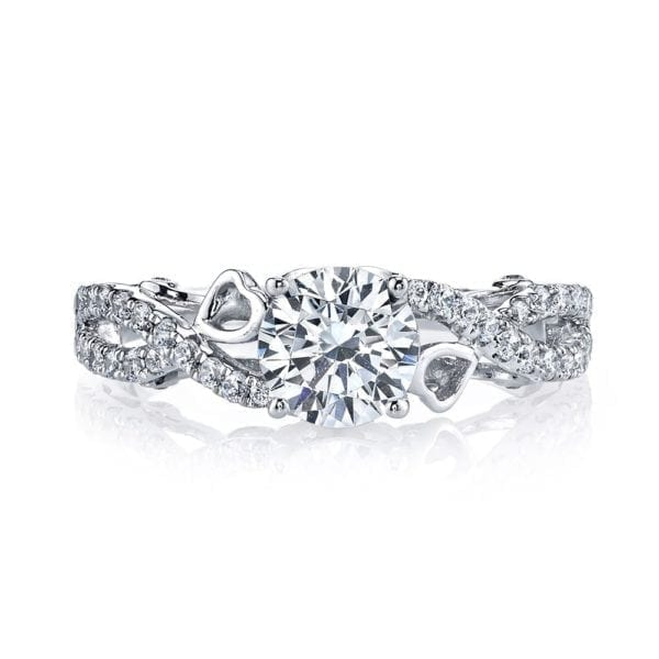 26129 Diamond Engagement Ring, 0.39 Ctw.