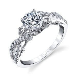 26129 Diamond Engagement Ring, 0.39 Ctw.