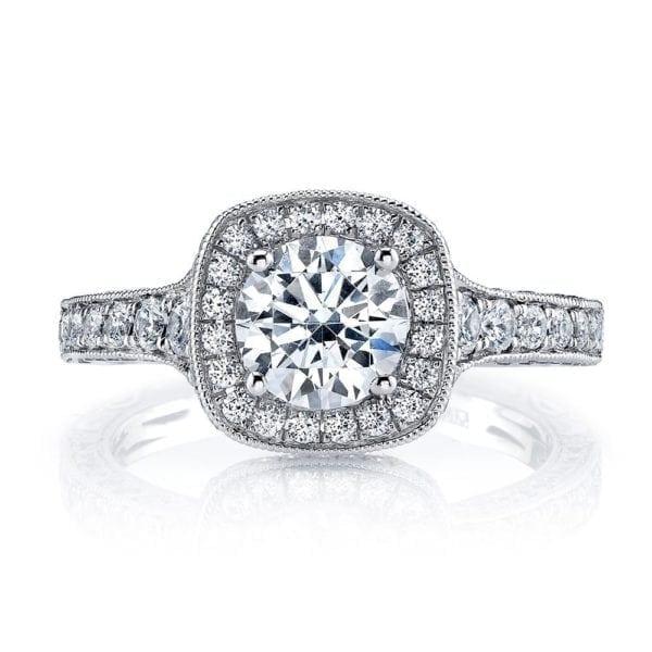 26169 Diamond Engagement Ring 0.82 Ctw.