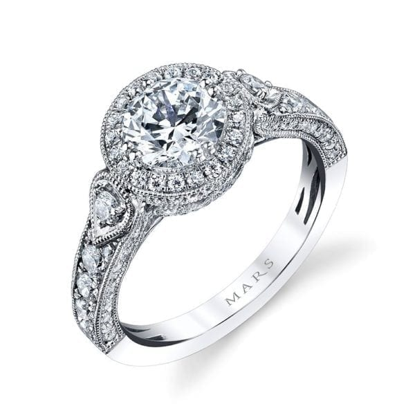 26170 Diamond Engagement Ring, 0.85 Ctw.