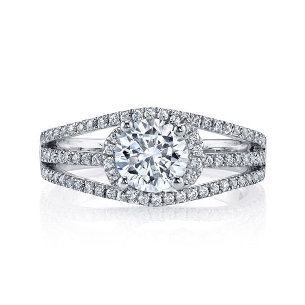 26204 Diamond Engagement Ring 0.44 Ctw.