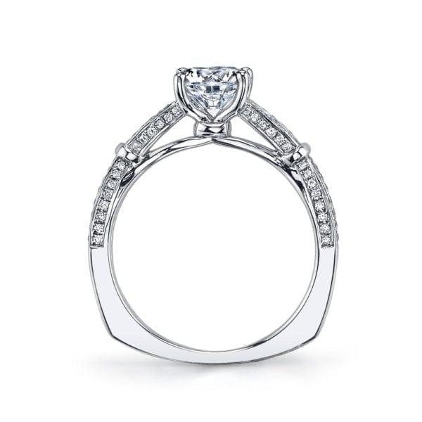 26244 Diamond Engagement Ring 0.27 Ctw.