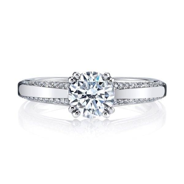 26251 Diamond Engagement Ring 0.21 Ctw.