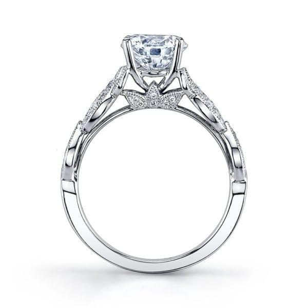 MARS 26441 Diamond Engagement Ring 0.26 Ctw.
