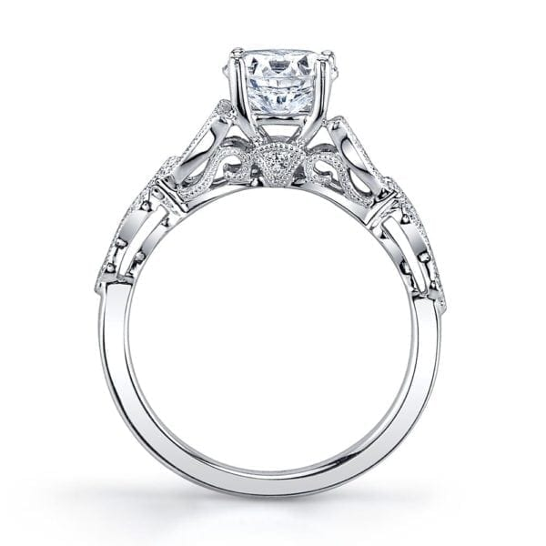 MARS 26442 Diamond Engagement Ring 0.17Ctw.
