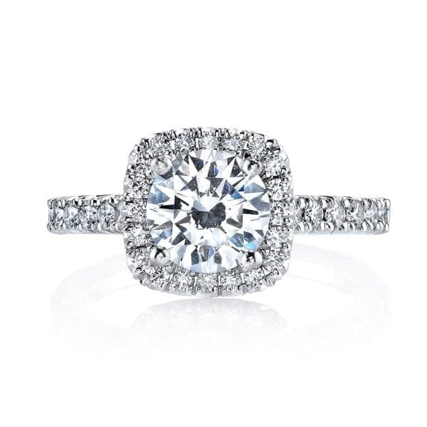 26467 Diamond Engagement Ring 0.57 Ctw.