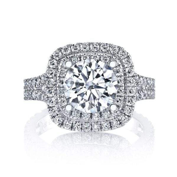 26492 Diamond Engagement Ring 0.88 Ctw.