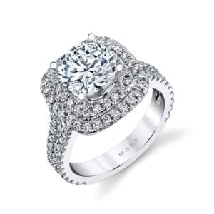 26492 Diamond Engagement Ring 0.88 Ctw.