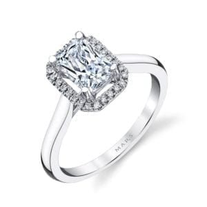 26498 Diamond Engagement Ring 0.08 Ctw.