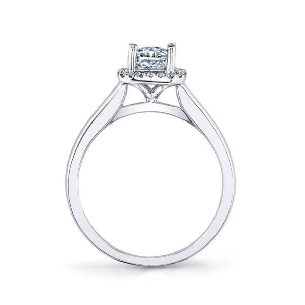 26498 Diamond Engagement Ring 0.08 Ctw.