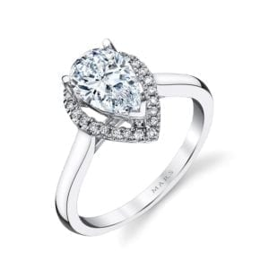 26499 Diamond Engagement Ring 0.11 Ctw.