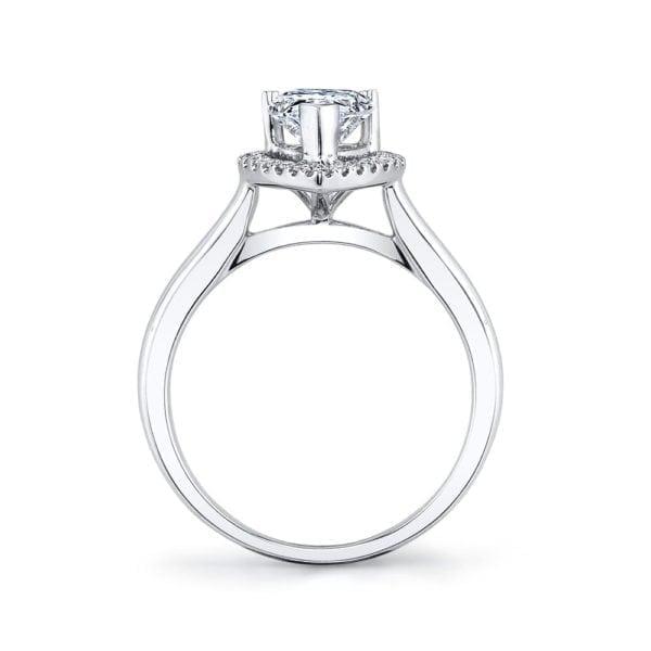 26499 Diamond Engagement Ring 0.11 Ctw.
