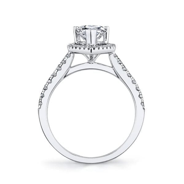 26502 Diamond Engagement Ring 0.28 Ctw.