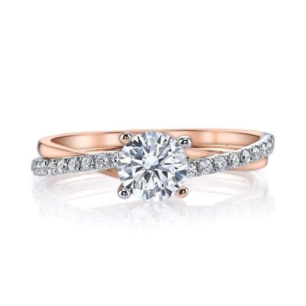 26509 Diamond Engagement Ring 0.17 Ctw.