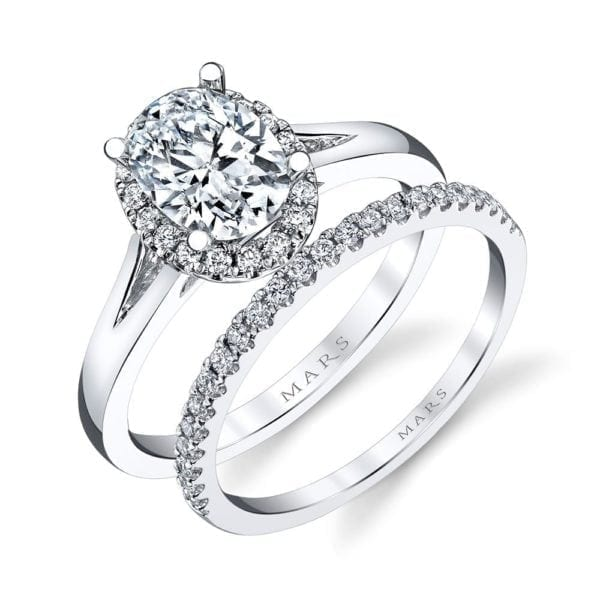26513 Diamond Engagement Ring 0.13 Ctw.