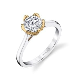 26515 Diamond Engagement Ring 0.02 Ctw.