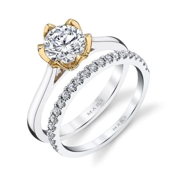 26515 Diamond Engagement Ring 0.02 Ctw.