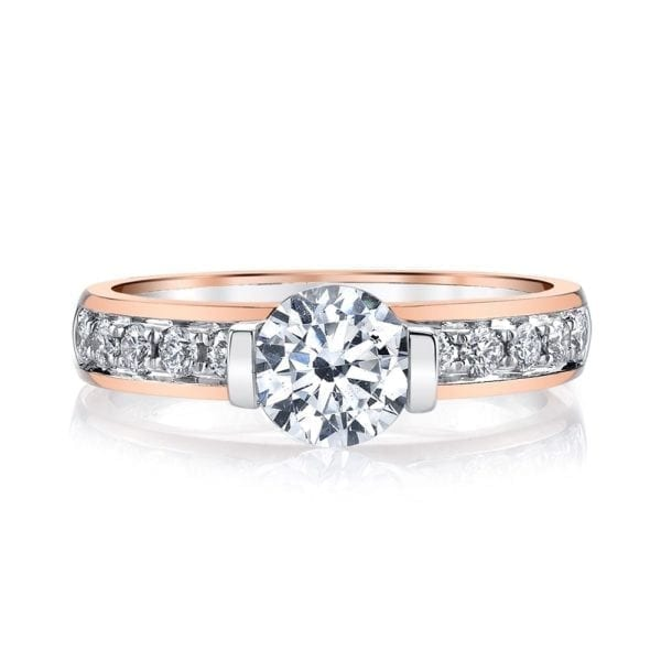 26517 Diamond Engagement Ring 0.37 Ctw.
