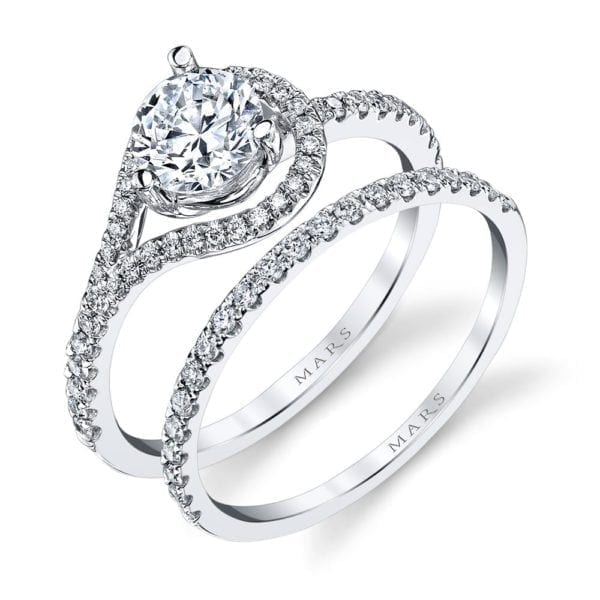 26531 Diamond Engagement Ring 0.21 Ctw.