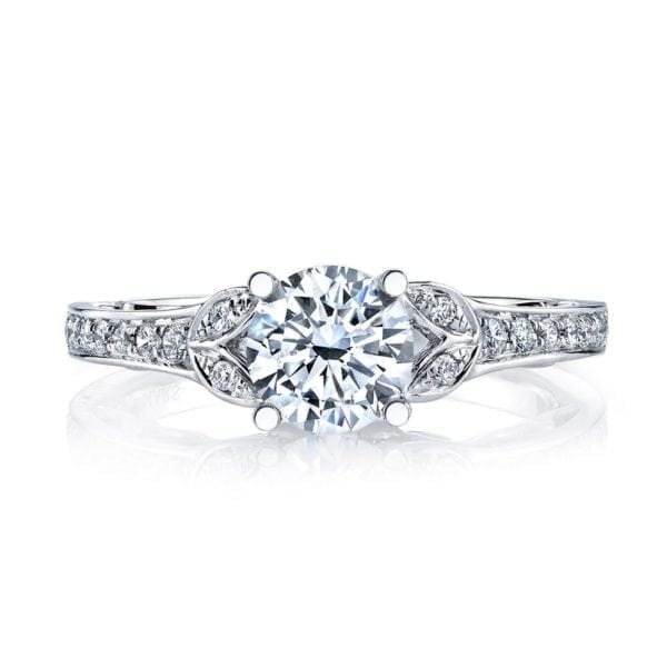 26547 Diamond Engagement Ring 0.13 Ctw.