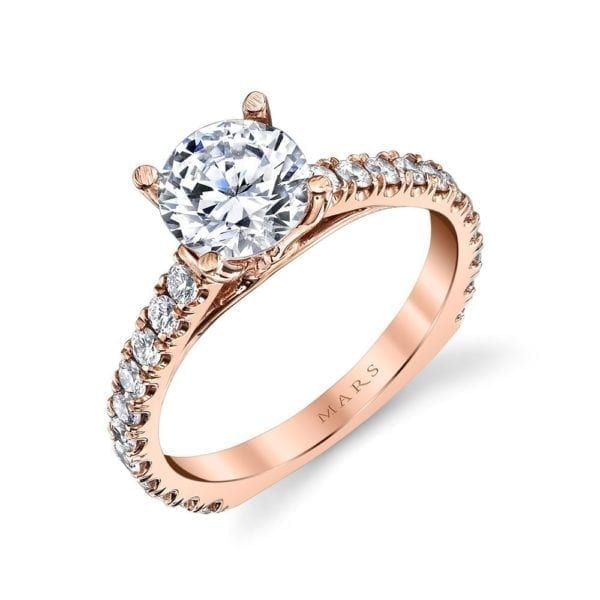 26562 Diamond Engagement Ring 0.52 Ctw.