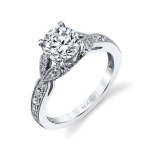 26700 Diamond Engagement Ring 0.28 Ctw.