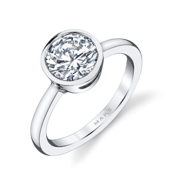26702 Solitaire Engagement Ring