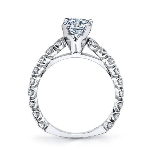MARS R245 Diamond Engagement Ring, 1.28 Ctw.