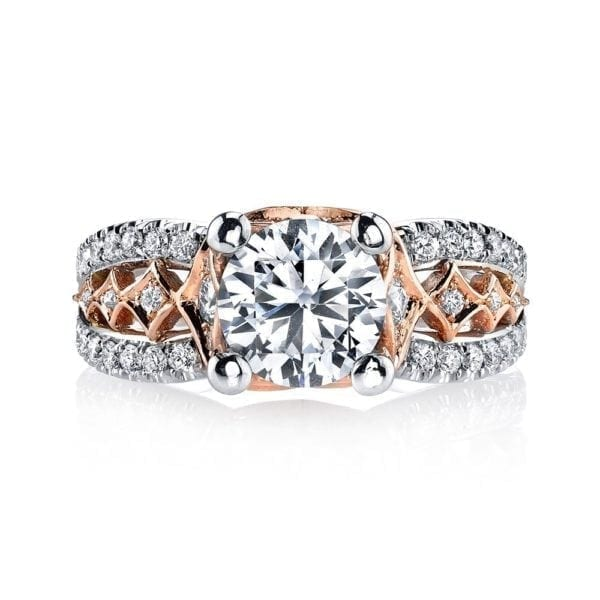 MARS R254WR Diamond Engagement Ring, 0.70 Ctw.